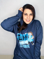 Let Me Explain Studios Hoodie by Rebecca Parham - Creator Ink