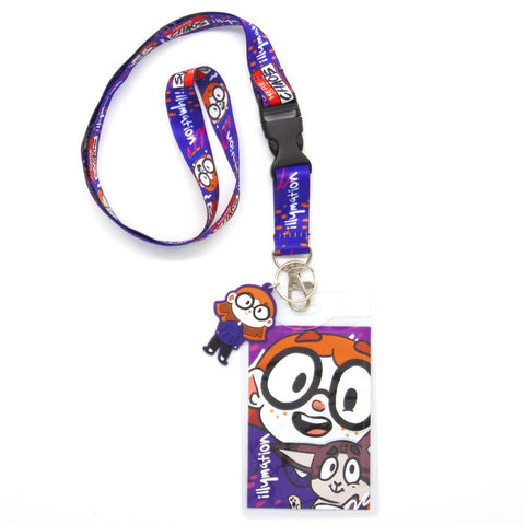 """Here for the Chaos"" Lanyard 