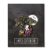 Under The Haunted Oak Halloween Pin - Creator Ink