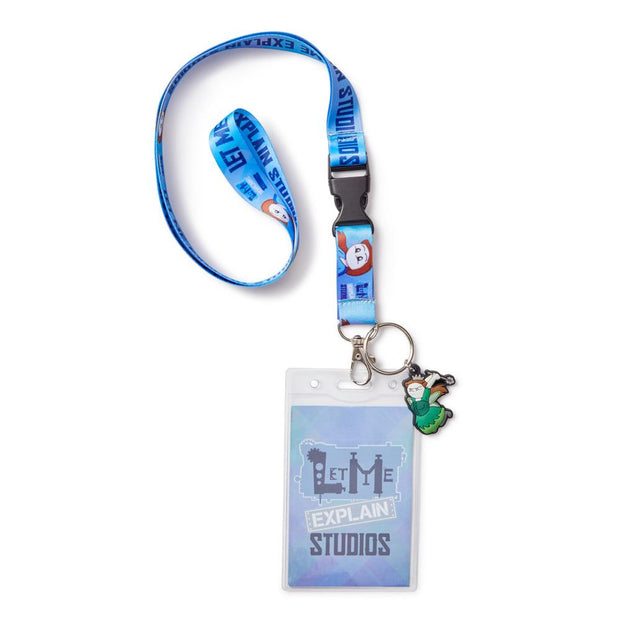 Let Me Explain Studios Lanyard Set