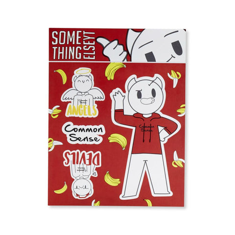 Common Sense Sticker Sheet from SomeThingElseYT - Creator Ink