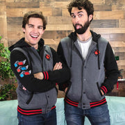 Film Theory Varsity Hoodie by MatPat and Film Theory - Creator Ink