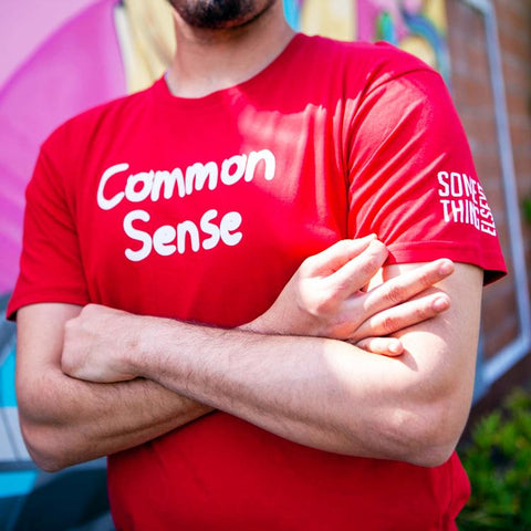 Common Sense T-Shirt by SomeThingElseYT - Creator Ink