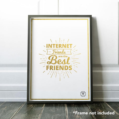 Internet Friend's Poster by MatPat & Theory Wear - Creator Ink