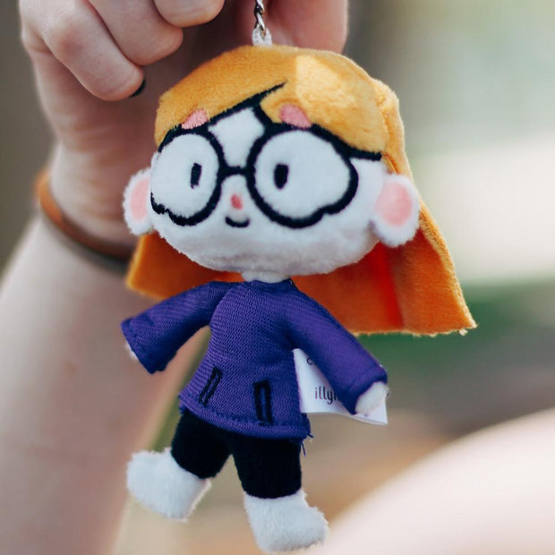 Keychain Plushie by Illymation - Creator Ink