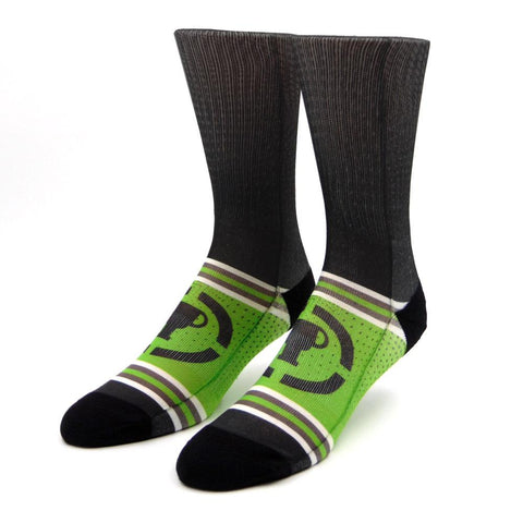 Game Theory Sublimated Socks | Official MatPat & Game Theory Merch