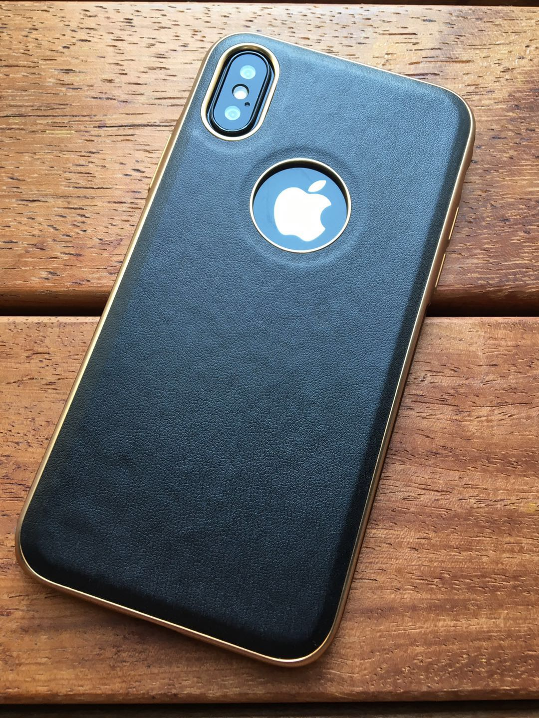 iPhone X Luxury Leather Case - caseoftheday.com.au