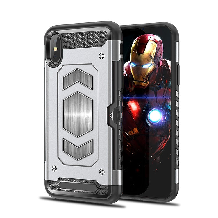 iPhone Luxury Style TPU Armor Magnetic Mount Card Case For iPhone XR Xs Max - caseoftheday.com.au