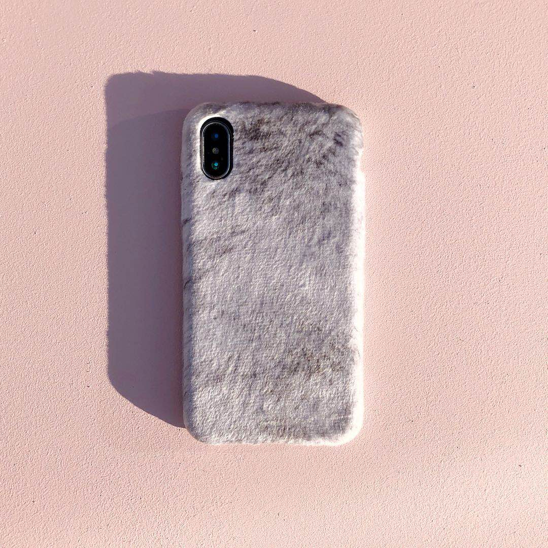 iPhone Wrapped Warm Fur-Feel Phone Case - caseoftheday.com.au