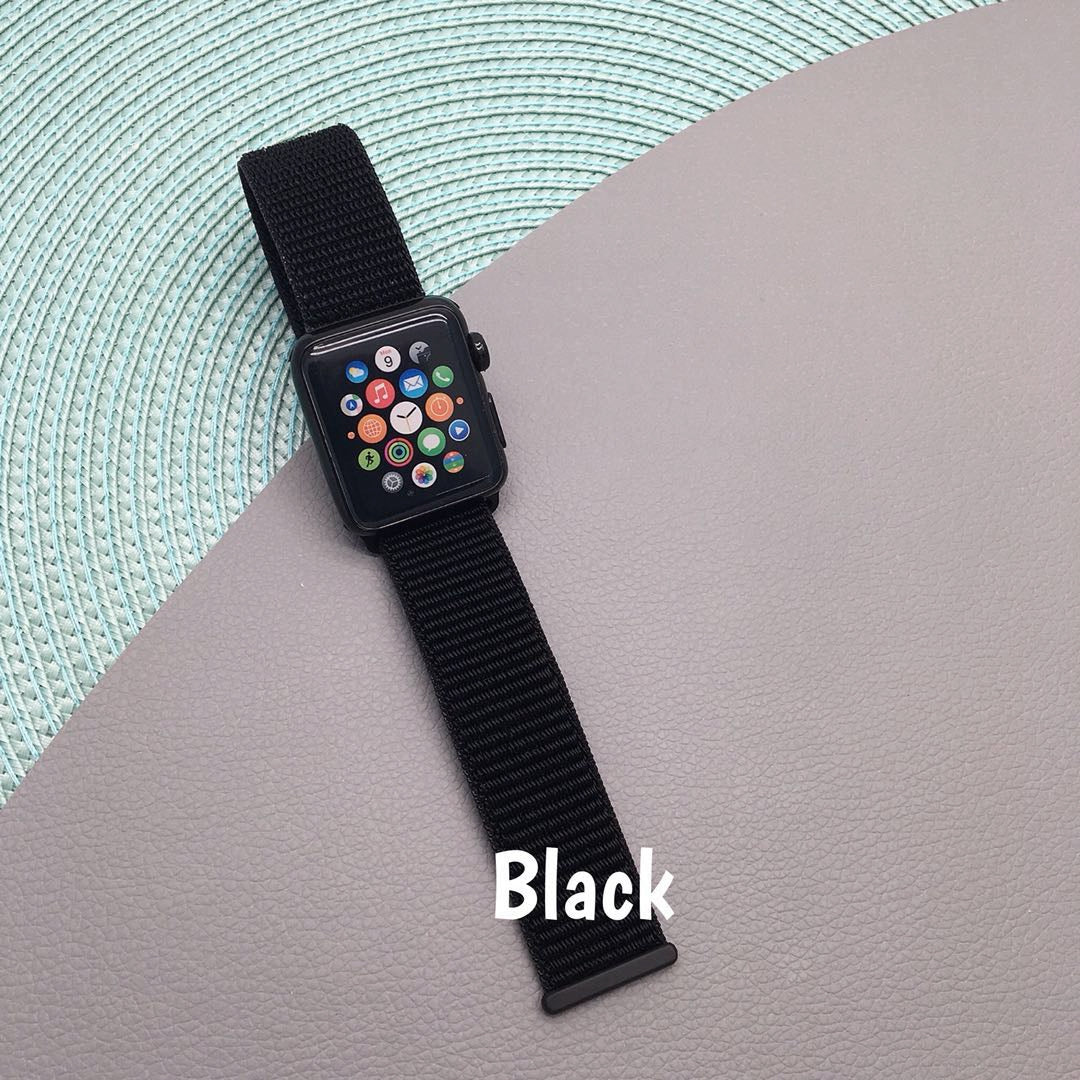 Dries Quickly Super Lightweight Sport Loop iWatch Band Apple Watch Series 1 2 3 - caseoftheday.com.au
