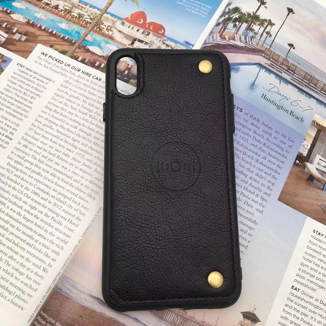 iPhone Fashionable Magnetic Premium PU Leather Wallet Case For iPhone XR Xs Max - caseoftheday.com.au