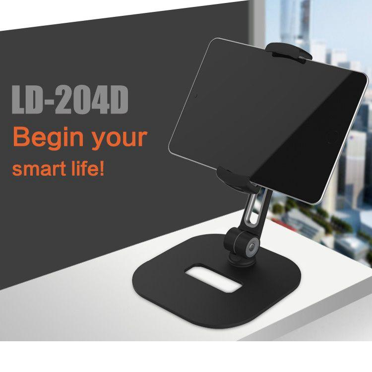 Ledetech LD-204D Universal Rotating Tablet Mount iPad Holder Stand - caseoftheday.com.au