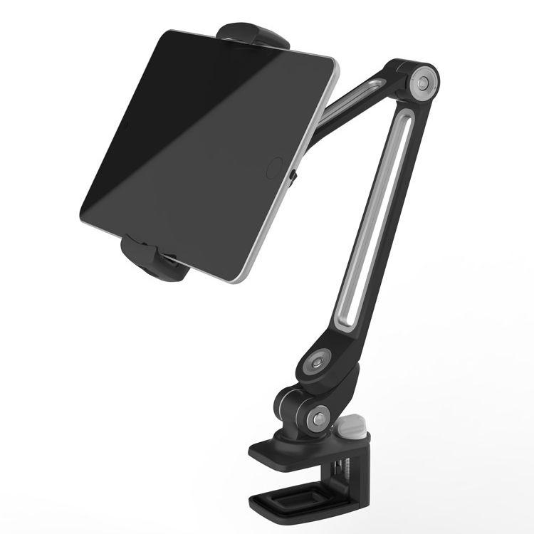 ledetech-ld-205b-desk-clamp-universal-rotating-tablet-mount-ipad-holder-stand