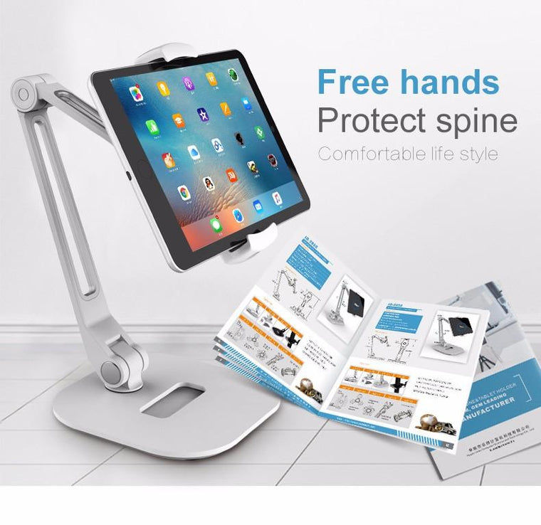 Ledetech LD-205D Long Arm Universal Rotating Tablet Mount iPad Holder Stand - caseoftheday.com.au