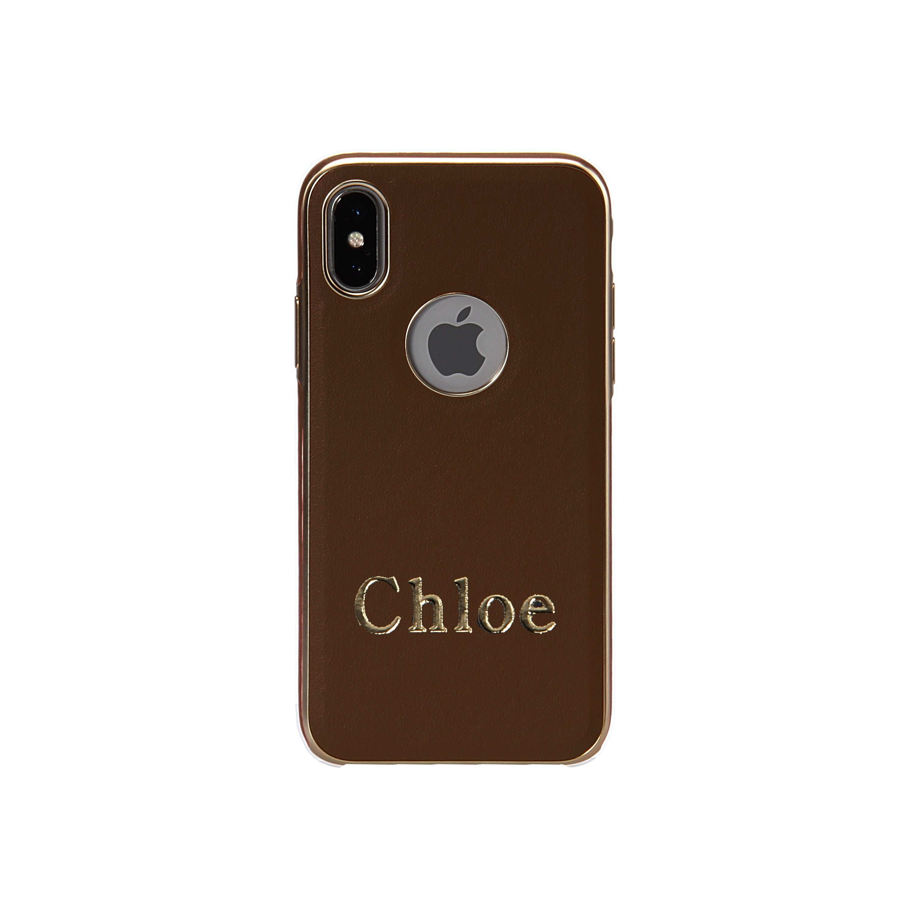 Iphone 7 8 Rc Gold Rim Leather Monogrammed Engraving And Stamping Goospery Sky Slide Bumper Case Caseoftheday