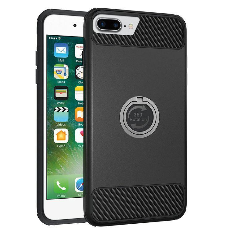 iPhone Ring Holder Kickstand Hybrid Shockproof Protective Case - caseoftheday.com.au