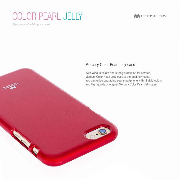 iPhone Goospery Mercury Color Pearl Jelly case For iPhone X/XS XR Xs Max - caseoftheday.com.au