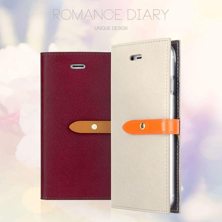 iPhone Goospery Mercury Romance Diary Wallet case [Drop Protection] - caseoftheday.com.au