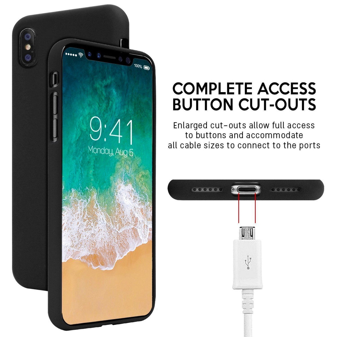 iPhone Goospery Mercury Soft Feeling TPU case For iPhone X/XS XR Xs Max - caseoftheday.com.au