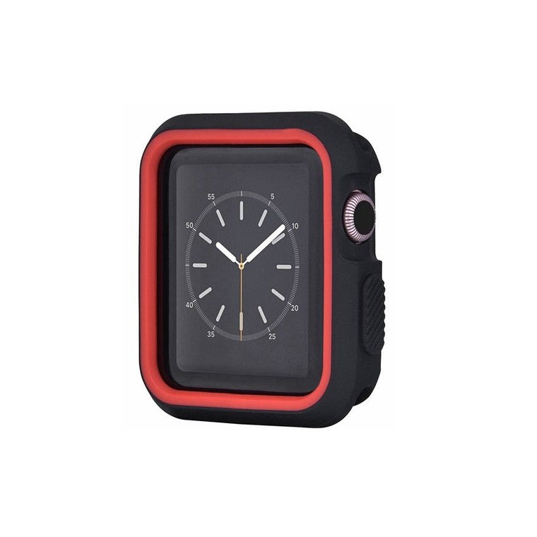 Protective Shock Resist Silicone TPU Case For Apple Watch Case 1 2 3 - caseoftheday.com.au