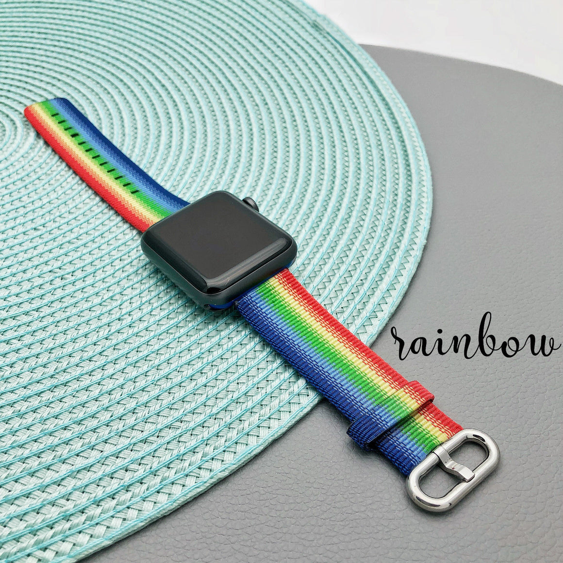 Sports Loop Band Nylon Replacement Strap For Apple Watch Series 1 2 3 i Watch - caseoftheday.com.au