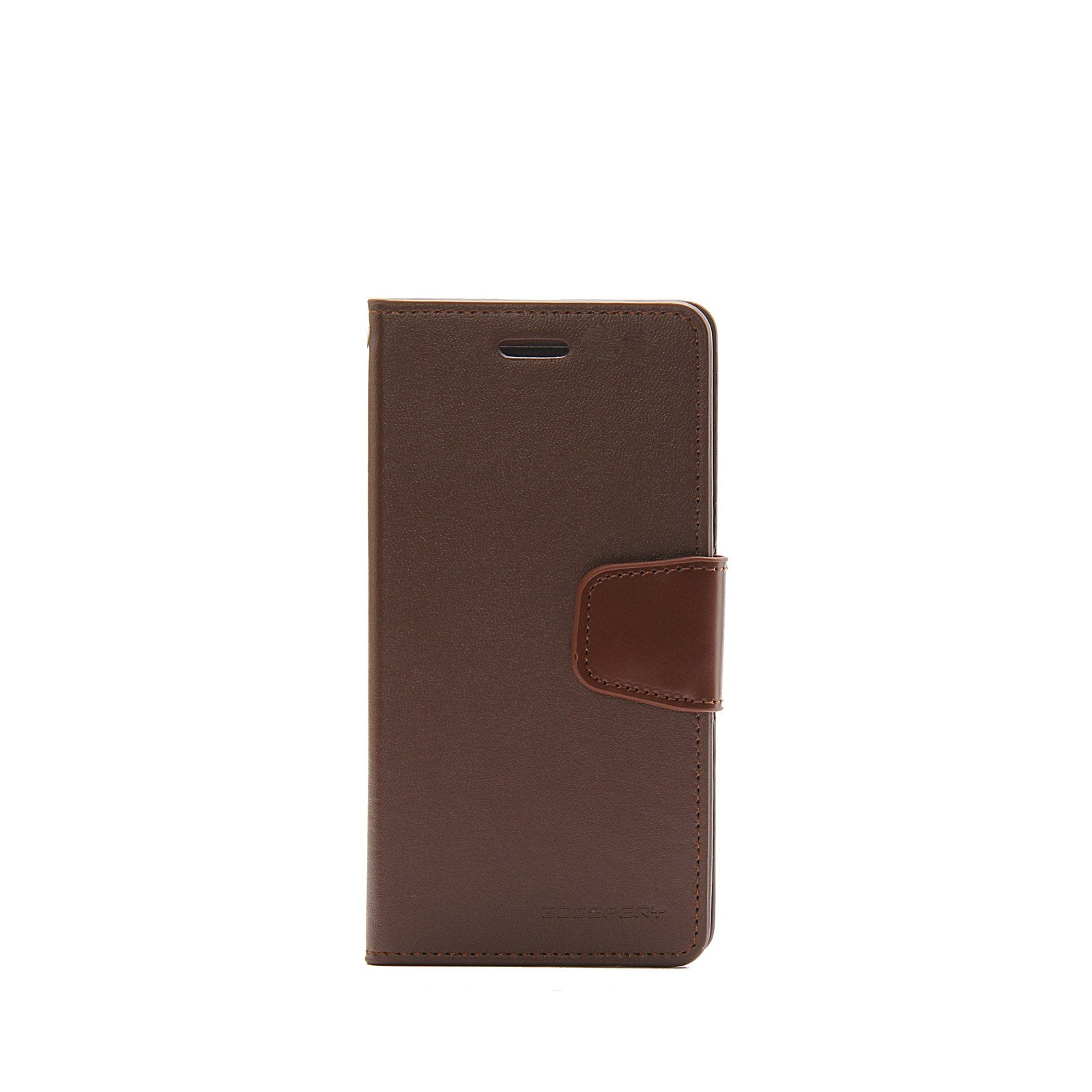 Authentic Iphone 6 6s Goospery Mercury Sonata Diary Wallet Case X Blue Moon Flip Brown Samsung