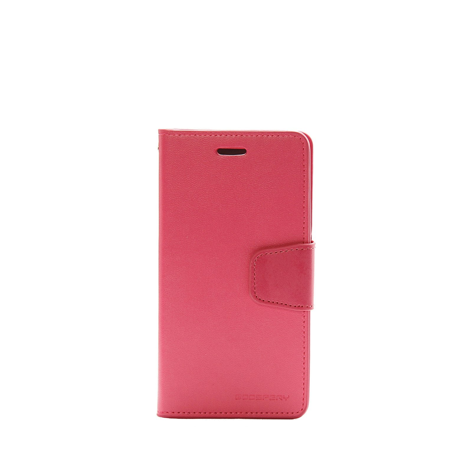 Authentic Iphone 6 6s Goospery Mercury Sonata Diary Wallet Case Plus Pearl Jelly Pink Samsung