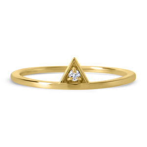 Forme Triangle Ring