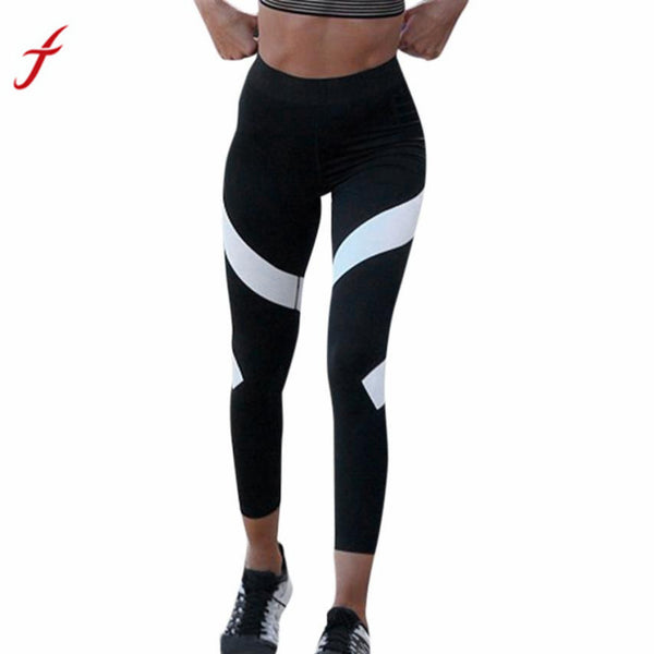 Fitgood21 Fitgood Leggings Women Workout Gym Work out Legging Fitness Elastic Waist Cropped Ankle-Length, Leggings, Look Good, Feel Good, Fitgood21