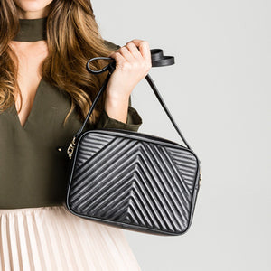 MightyPurse Geo Bag with built-in Phone Charger - Kukachoo