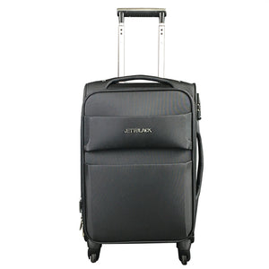 "21"" Raven Black Cabin Luggage - Kukachoo"