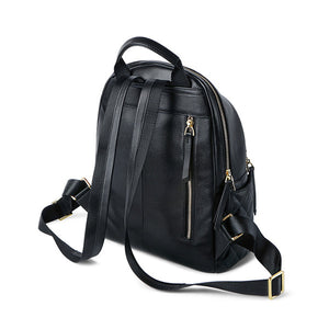 Softback Leather Backpack - Kukachoo