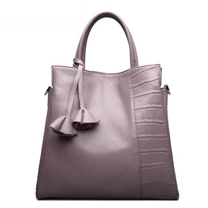 Soft Leather Tote - Kukachoo