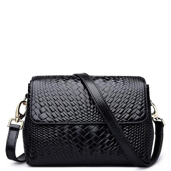 Leather Serpentine Messenger - Kukachoo