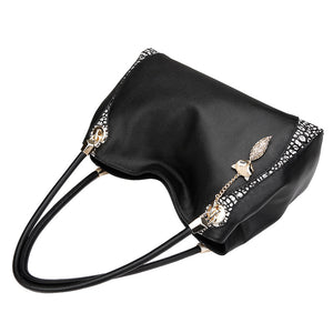Leather Hobo Shoulder Bag - Kukachoo
