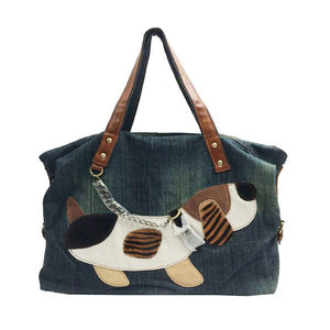 Washed Denim Bag - Kukachoo