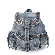 Vintage Denim Backpack - Kukachoo