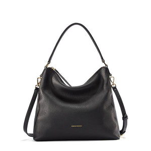 Versatile Soft Leather Hobo - Kukachoo