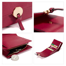 Round Lock Short Wallet - Kukachoo