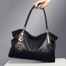 Soft Leather Shoulder Bag - Kukachoo