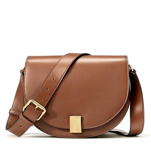 Vintage Saddle Shoulder Bag - Kukachoo