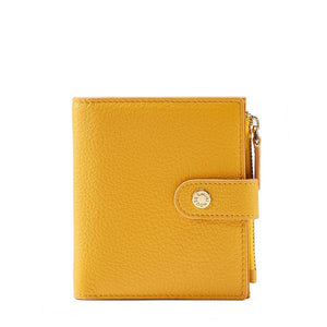Short Bifold Leather Wallet - Kukachoo