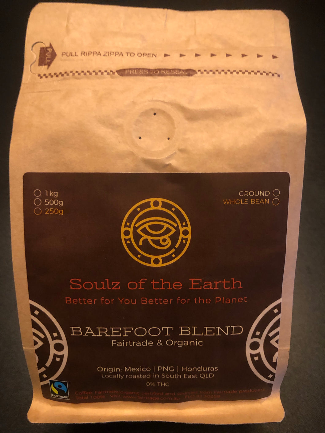 Ground Hemp Coffee