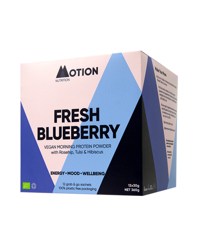 Fresh Blueberry Morning Shake – Organic Vegan Protein