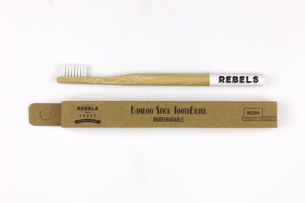 Bamboo Toothbrush - Medium