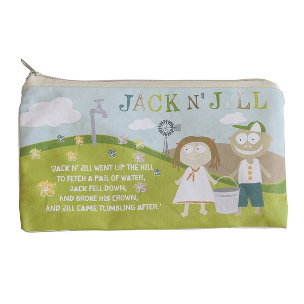 Jack N' Jill Sleepover Bag Natural Cotton