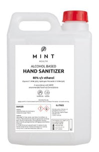 MINT Health Alcohol Sanitizers 5L