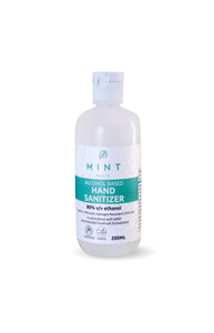 MINT Health Alcohol Sanitizers 250ml