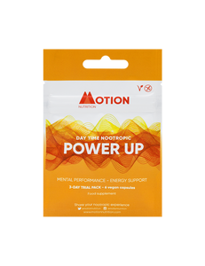 Motion Nutrition Power Up: Ultimate Brain Fuel - 3 Day Trial Pack