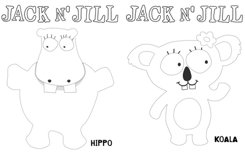 Jack 'N Jill Colouring Book
